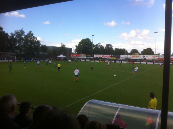 De wedstrijd tussen Regioteam Effeweg.nl en PEC Zwolle
