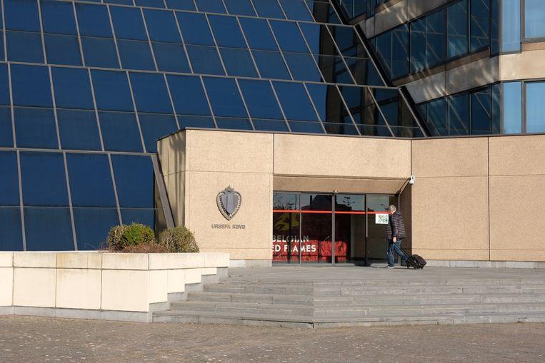 Het bondsgebouw in Brussel.