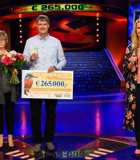 Frans uit Wierden wint 265.000 euro in Miljoenenjacht