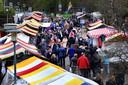 De voorjaarsmarkt van Ulvenhout in 2016.