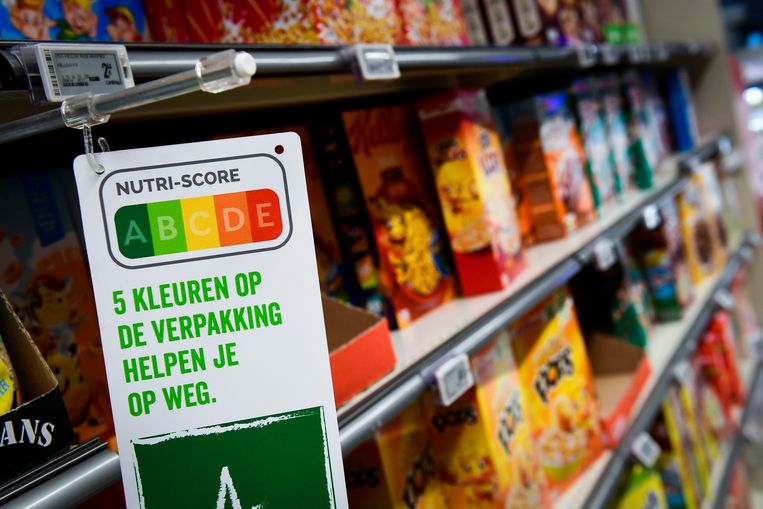 In België wordt de Nutriscore al gebruikt. Beeld BELGA