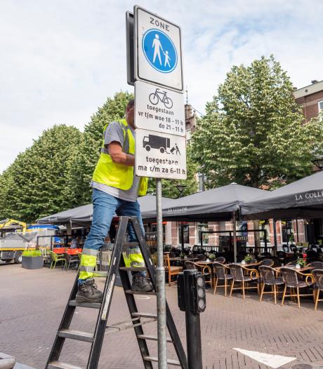 Steekproef fietsverbod Oss: slechts één op de tien fietsers stapt af in het centrum
