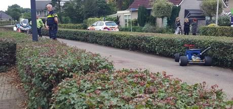 Gewonde bij ongeval met zelfbouwkart in Enschede