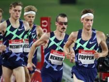 Nijmeegse hardloper Mike Foppen evenaart Nederlands record tijdens debuut Diamond League