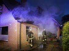 Uitslaande brand richt schade aan in Nunspeetse garage