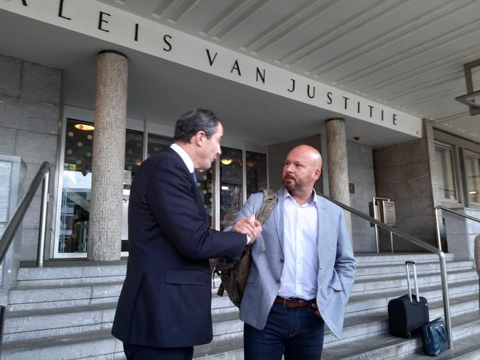 Marco Kroon na de rechtszaak.
