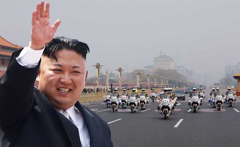 In het konvooi van Kim Jong-un rijdt altijd een toiletwagen mee.
