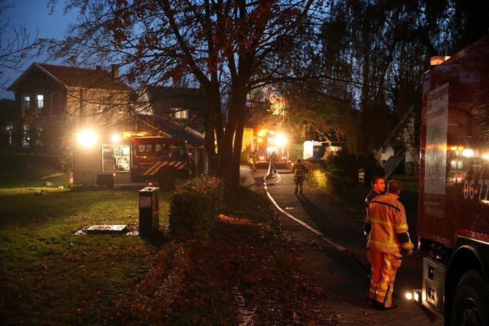 De brandweer rukte met veel materieel uit. Foto: Ronny te Wechel