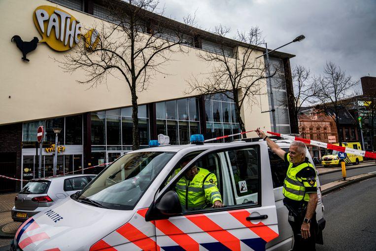 In een bioscoop in Groningen werden eind oktober twee lichamen gevonden. Beeld ANP
