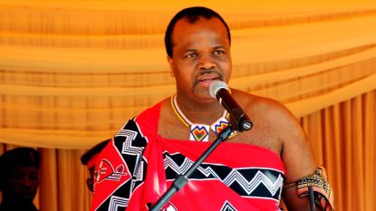 """Koning van Swaziland herdoopt zijn land in """"eSwatini"""""""