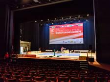 Parktheater Eindhoven even een sporthal voor WK zitvolleybal