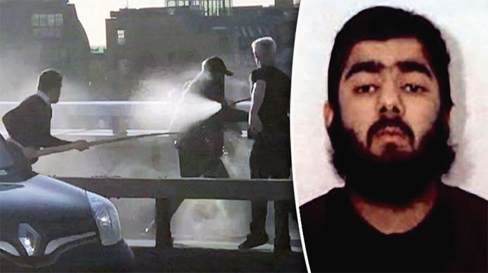 Usman Khan a été neutralisé par plusieurs personnes avant d'être abattu par la police.