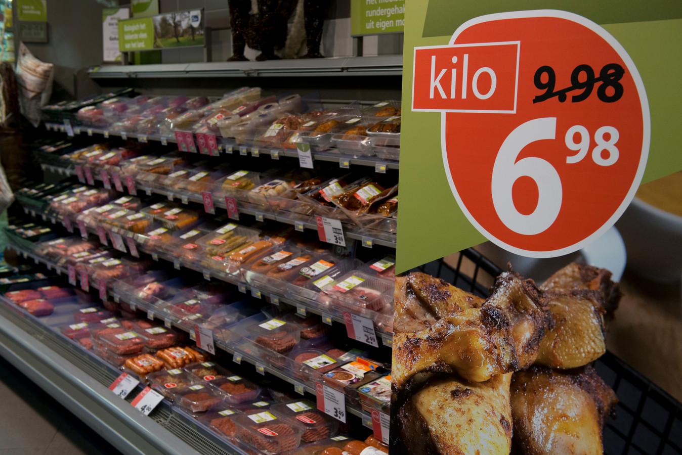 Het aantal vleesaanbiedingen is het afgelopen half jaar fors gestegen ten opzichte van dezelfde periode vorig jaar.