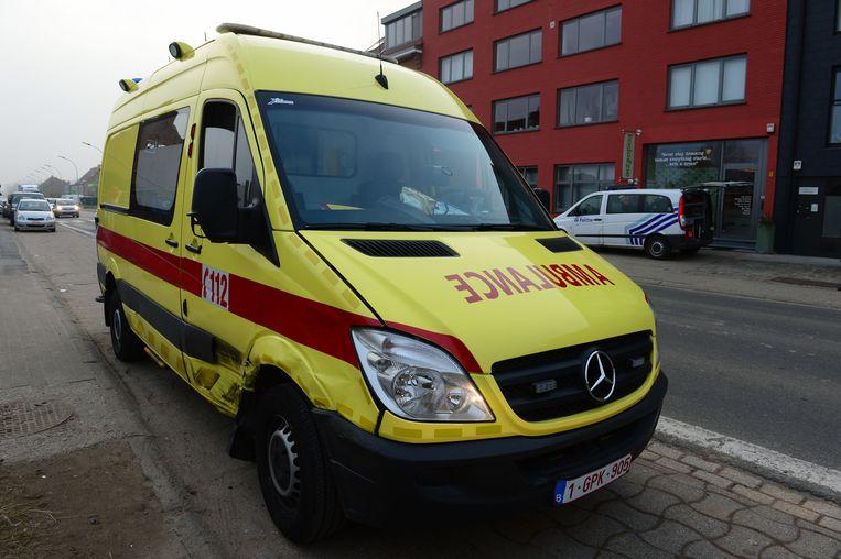 Archiefbeeld ziekenwagen