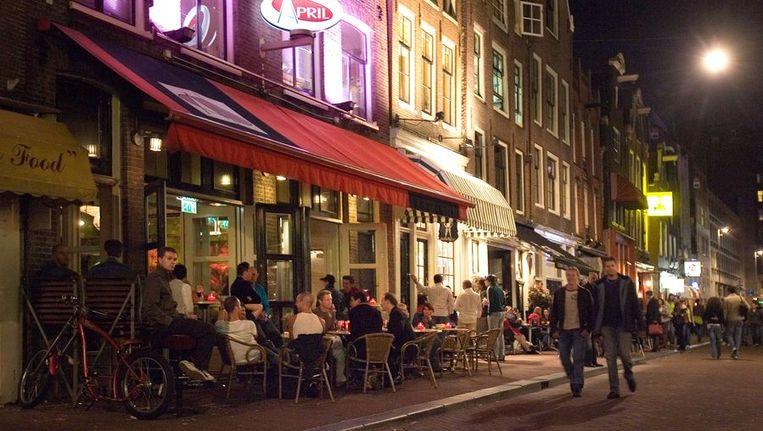 De Reguliersdwarsstraat in Amstedam in glorieuzer tijden. Foto GPD Beeld