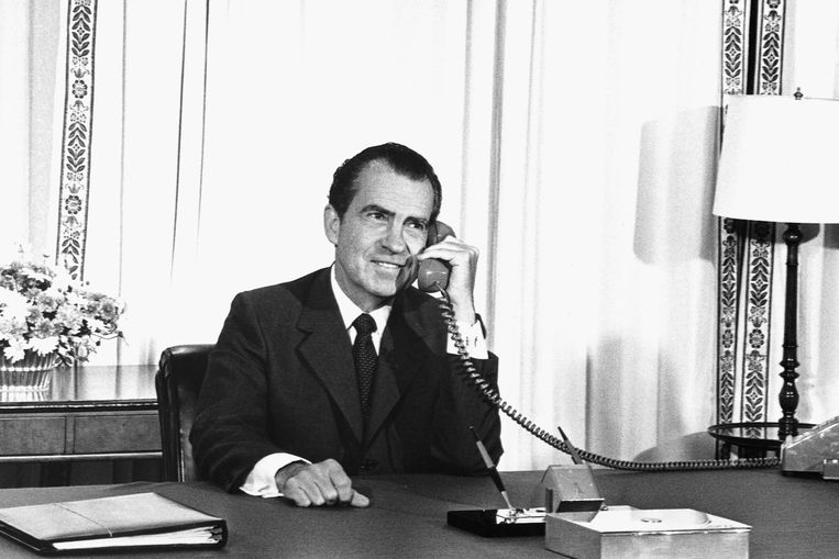 President Nixon in 1969. Beeld  Getty Images