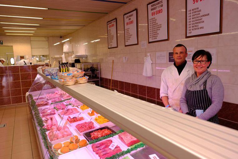 Kevin en Els van slagerij Amic maken zich samen met hun klanten grote zorgen.