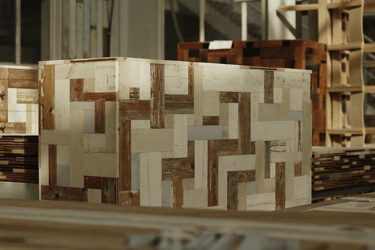 Piet Hein Eek gaat voor de Ikea ontwerpen. Beeld .