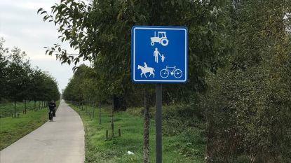 Parallelweg naast N41 wordt landbouwweg