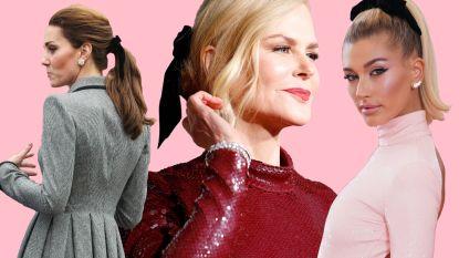 Populair op de rode loper en op Instagram: schattige strikken in je haar