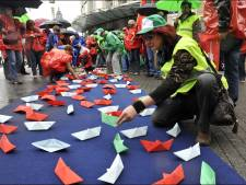 Plusieurs violations des droits syndicaux belges constatées en 2011