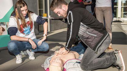 Studenten leren levens redden