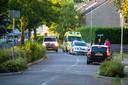 De straat in Wapenveld waar het mis ging tussen de twee buren.