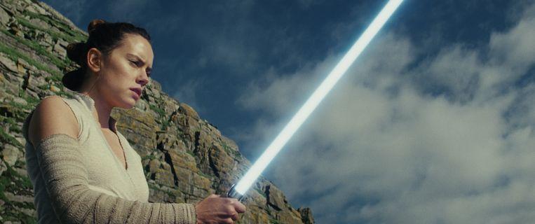 Daisy Ridley als Rey in 'Star Wars: The Last Jedi'.