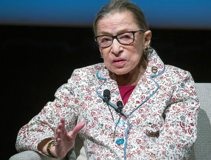 Opperrechter Ruth Bader Ginsburg (87) overleed gisteren omringd door haar familie.