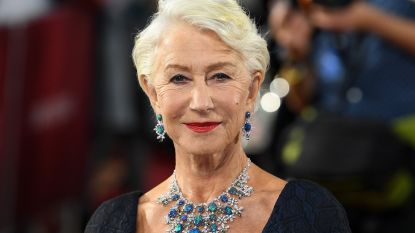 """Helen Mirren gelooft niet in 'mannelijk' en 'vrouwelijk': """"We zitten er allemaal ergens tussenin"""""""