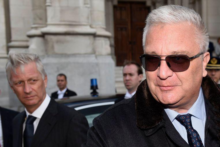 Prins Laurent ontkent de eerdere krantenberichten over een ruzie met Koning Filip.