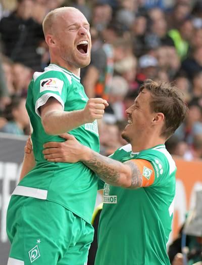 Klaassen met Werder Bremen te sterk voor Hertha BSC