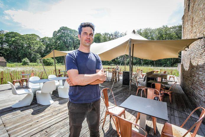 Brugge Damme: pop up bar Ryckevelde park cafe: Laurens Vogelaers