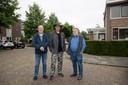 Piet Schiltmans, Mario Reinders en Willem Akkers (van links naar rechts).