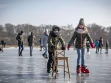 Wel schaatskoorts maar ijs nog te dun in Almelo en Bornerbroek