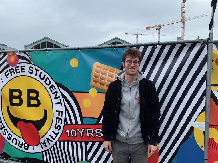 Tim Fabry, de organisator van Brussel Brost.