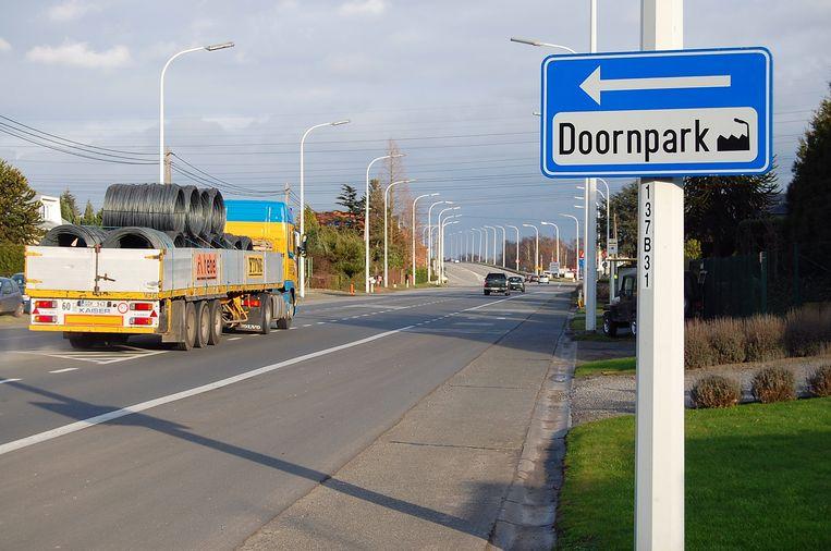 De nieuwe ringweg zal aansluiten op de N70 ter hoogte van het Doornpark.