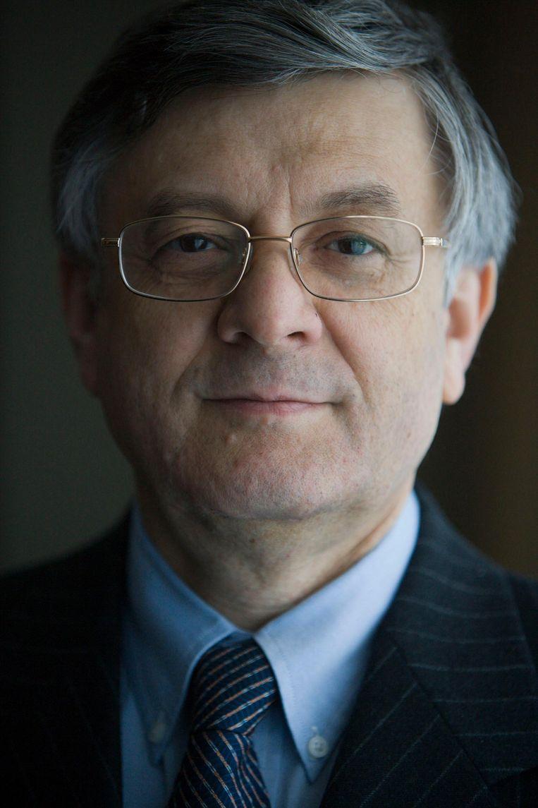 Harry Kney-Tal, deze Israëlische ambassadeur (2005-2011) kwam vaak bij de PVV op bezoek. Beeld Martijn Beekman