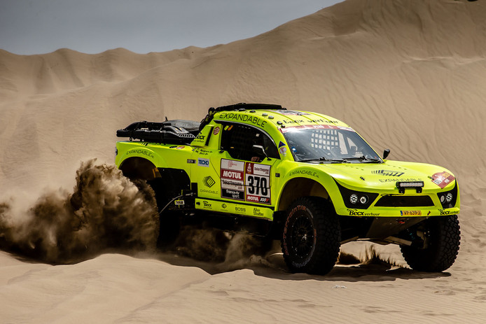 Michiel Becx in de Dakar Rally 2019