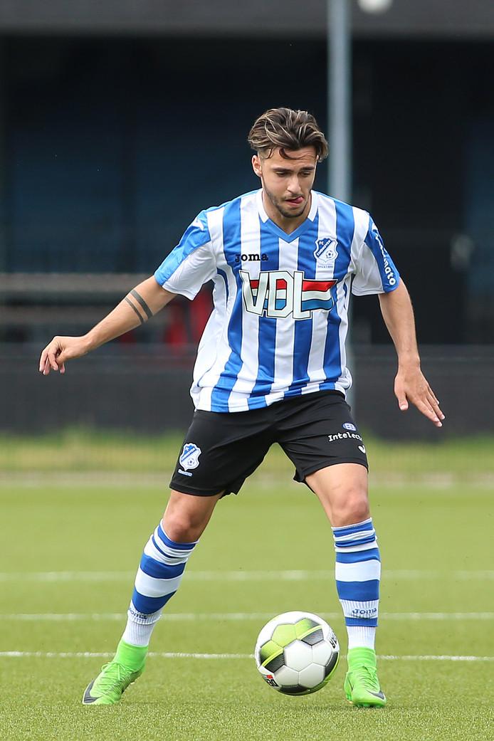 Allessio Carlone scoorde in Zeelst voor FC Eindhoven.