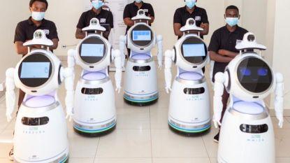 ZoraBots steunt strijd tegen corona met nieuwe robot: hij meet je temperatuur en ziet of je een mondmasker draagt