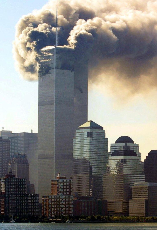 New York, 11 september 2001. Beeld epa