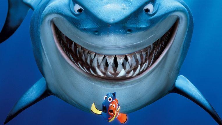 Fragment uit Finding Nemo. Beeld null
