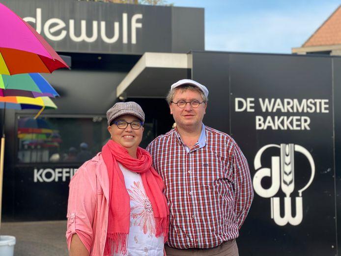 Annick en Mark van bakkerij Dewulf.