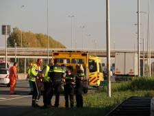 Gewonde bij ongeluk op snelweg A12 bij Ede