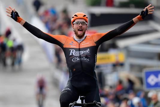 Jan-Willem van Schip boekte een ritzege in de Ronde van België.
