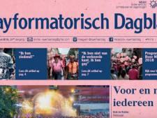 Protest op folder van Reformatorisch Dagblad: het Gayformatorisch Dagblad