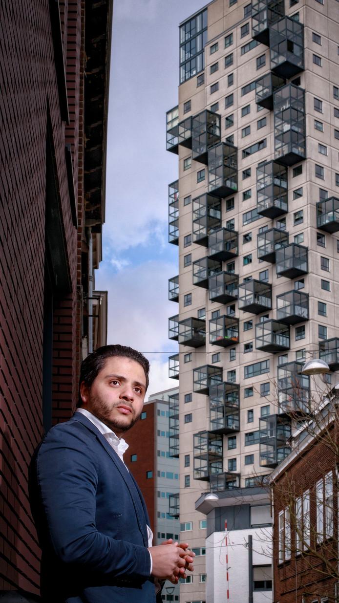 Khalid El-Kouazi, lijsttrekker van DENK in Brabant