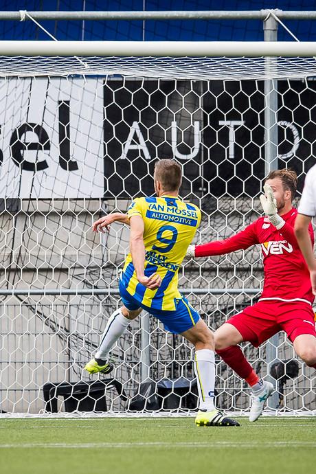Beter RKC laat naar gelijkspel in derby tegen FC Den Bosch