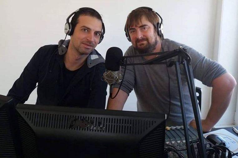 Radiomakers Stijn Van der Heyden en Ralph Iliano lanceerden met Radio Kadee ook net een Vlaamse kinderradio.
